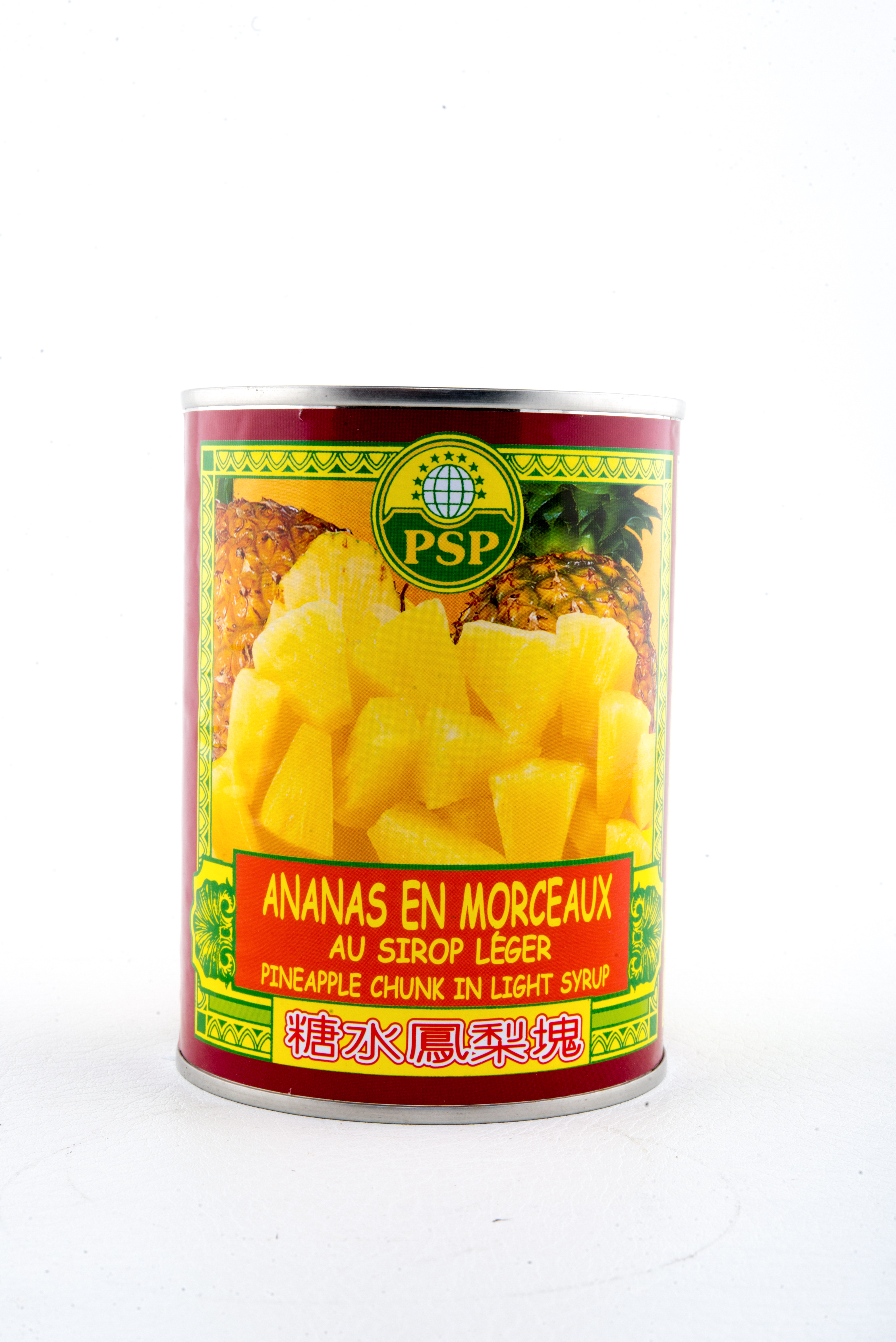 Ananas morceaux Sirop
