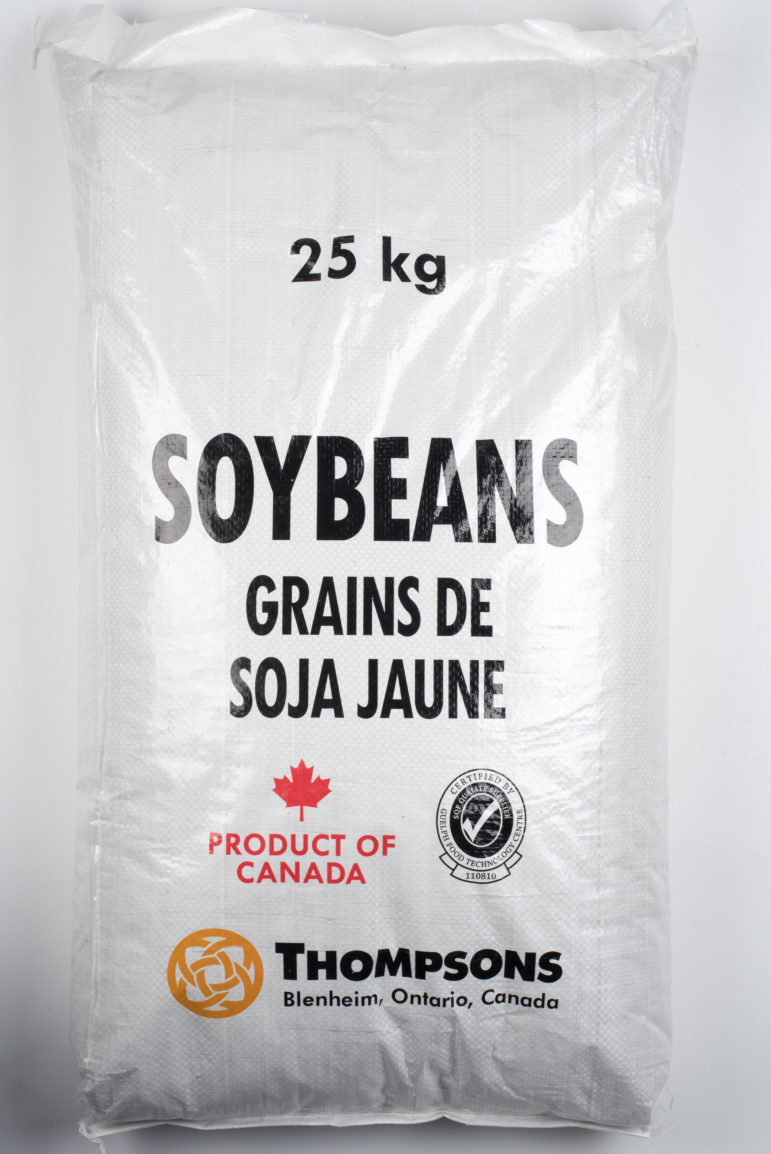 Grains de Soja jaune