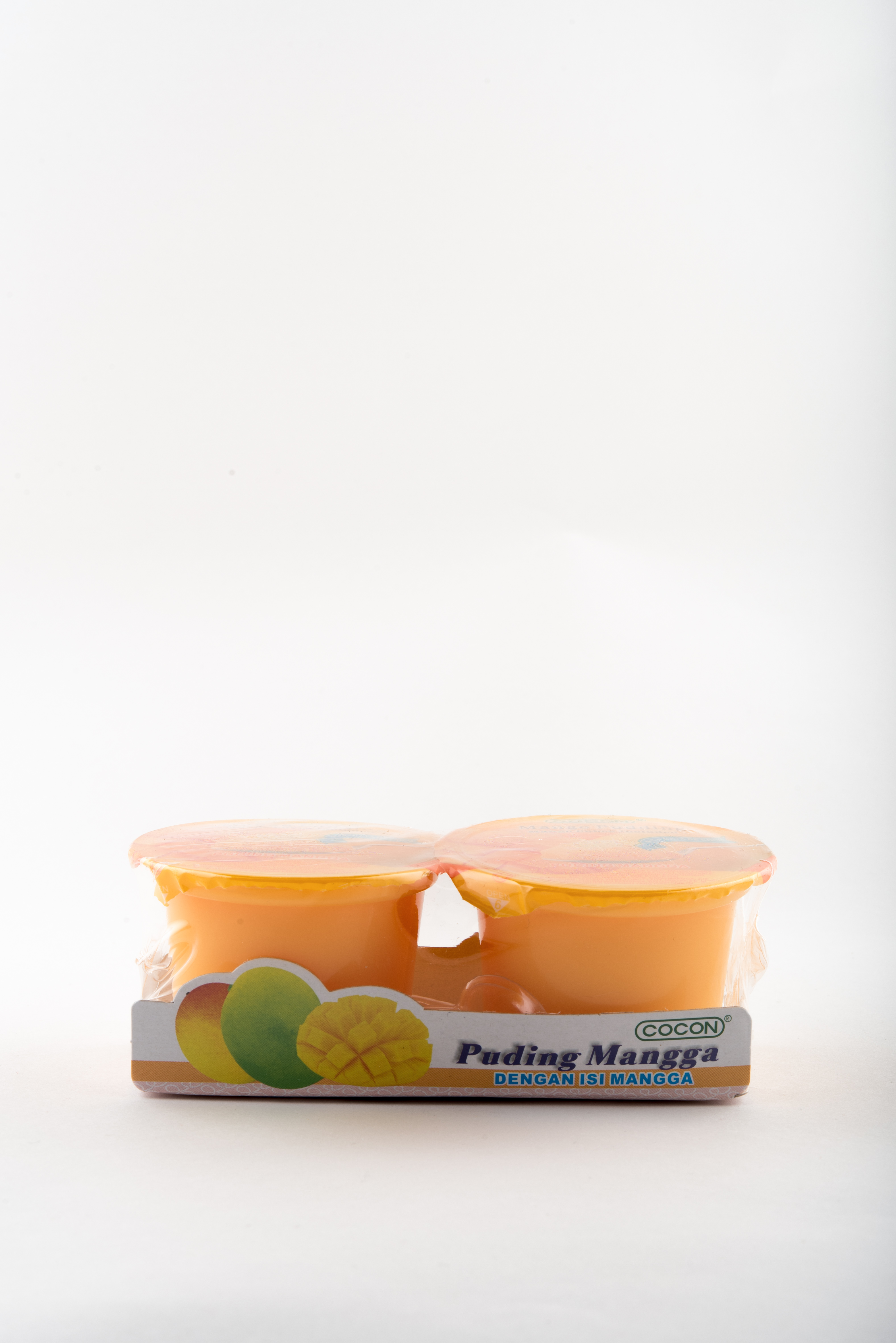 Pudding arôme Mangue