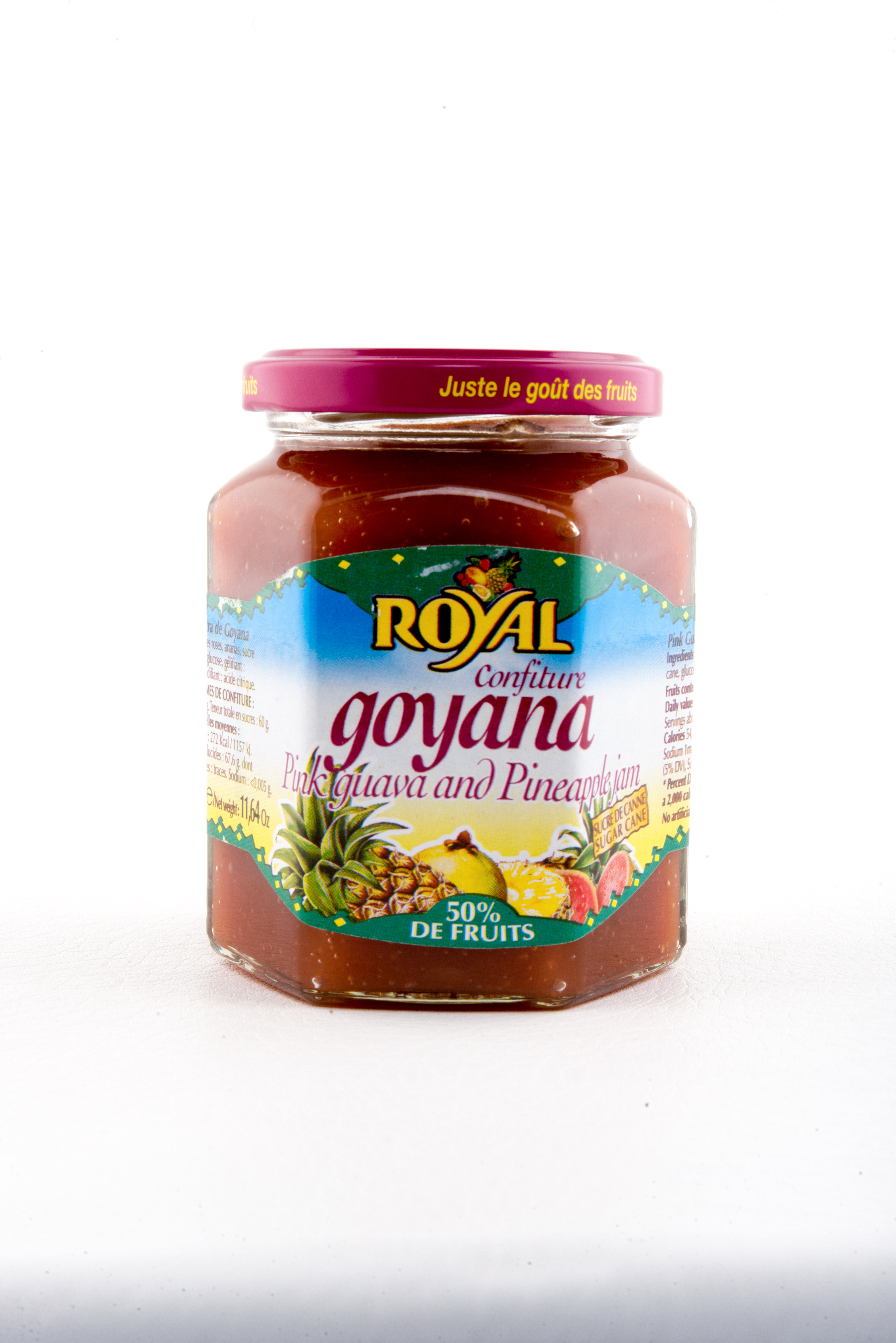 Confiture Goyave et Ananas